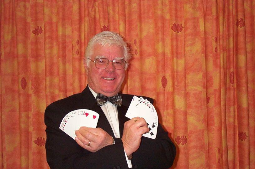 john 20holding 20cards