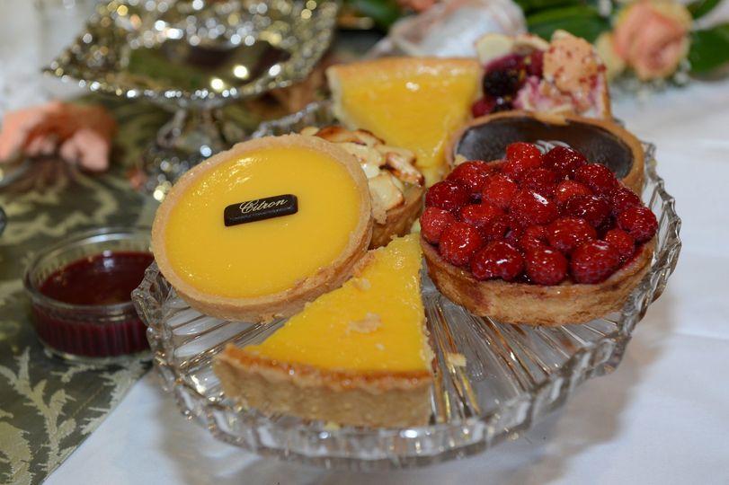 Crystal Glass dessert plates