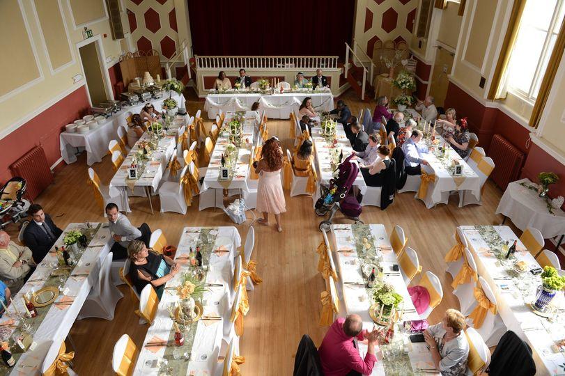 Wedding Set Up Gloucestershire