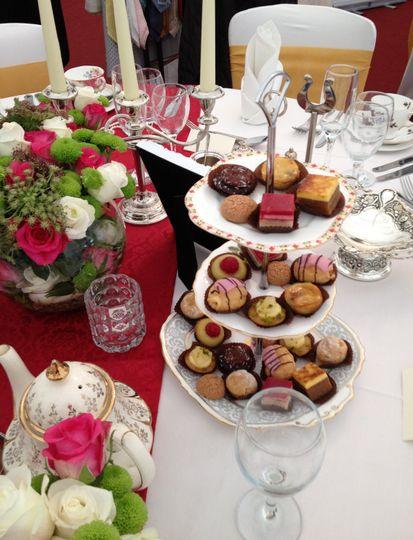 Exquisite Teas & Petit Fours