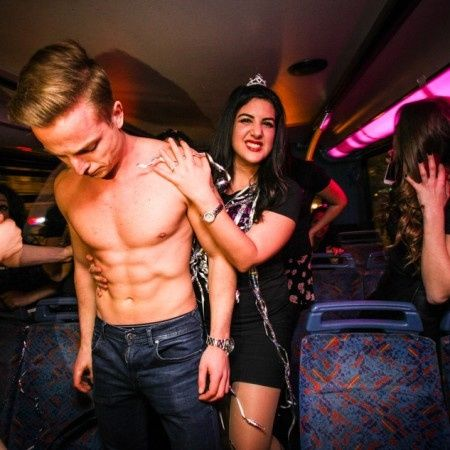 Hen and Stag Nights Party Bus 2