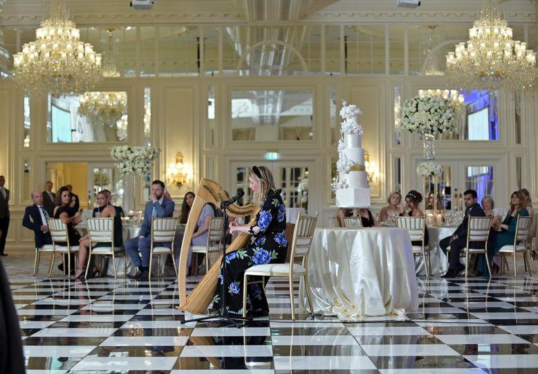 Luxurious wedding setting