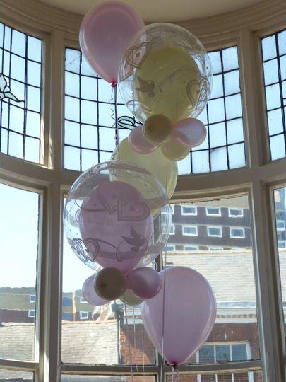 Deco bubble bouquet