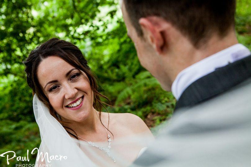 Bridal makeup with trials