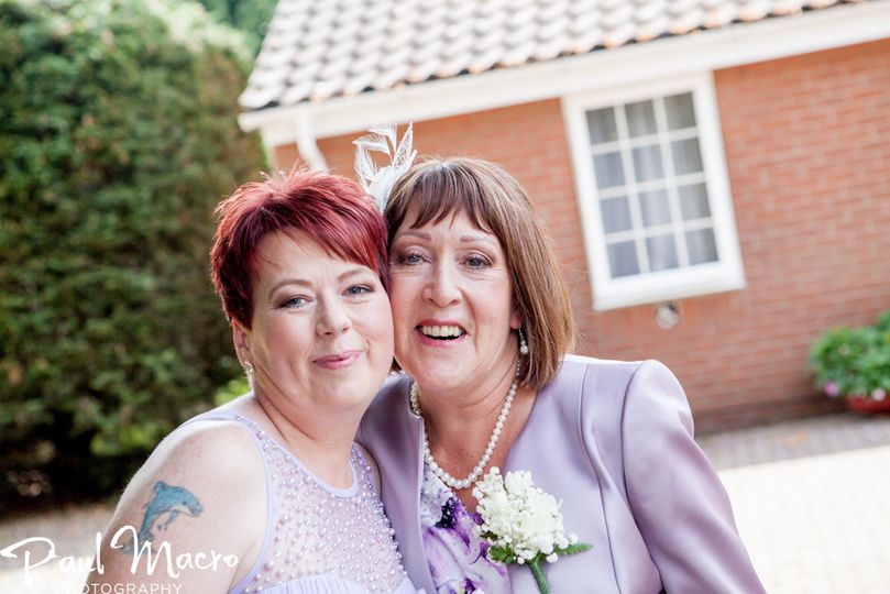Mother of the bride and Maid o