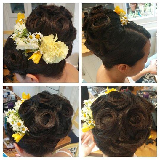 Beauty, Hair & Make Up Naomi Benjamin Bridal Hair and Make Up 46