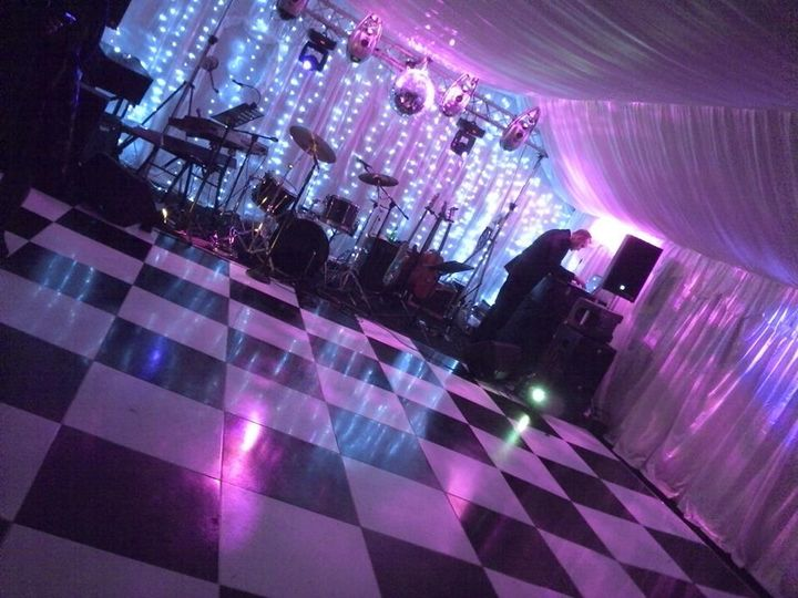 Dance floor available
