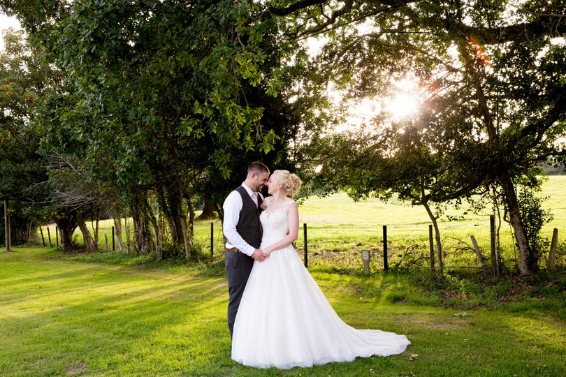 Burley Manor Wedding, Hampsire