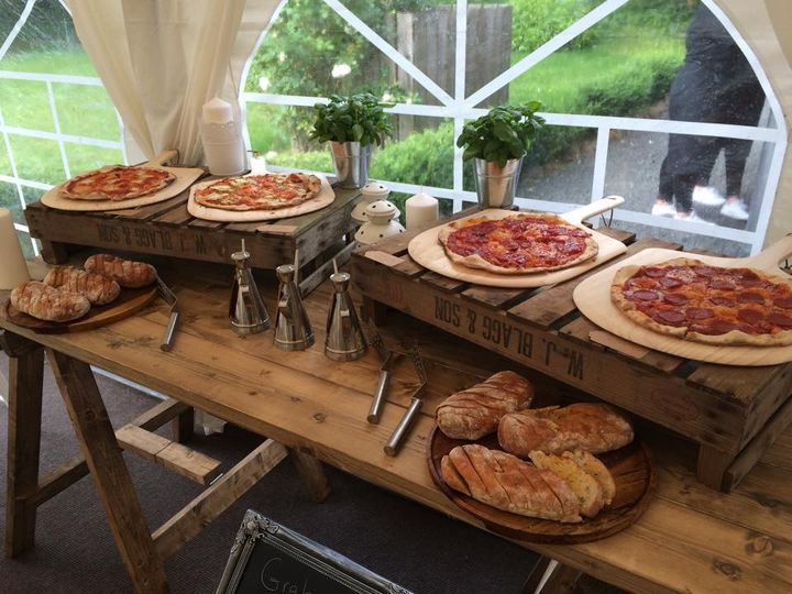 Wood fired pizza designs