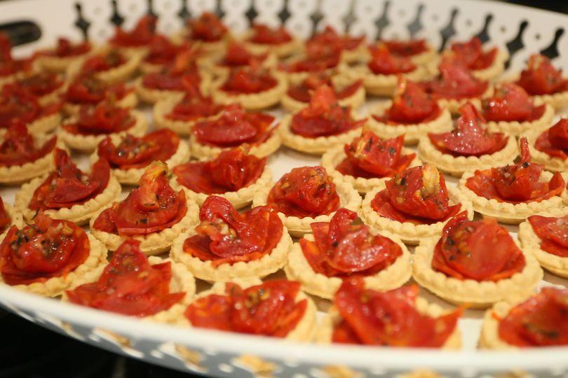Chorizo with sun-dried tomato