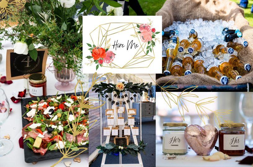 Decorative Hire Bespoke Bonnie Weddings 20