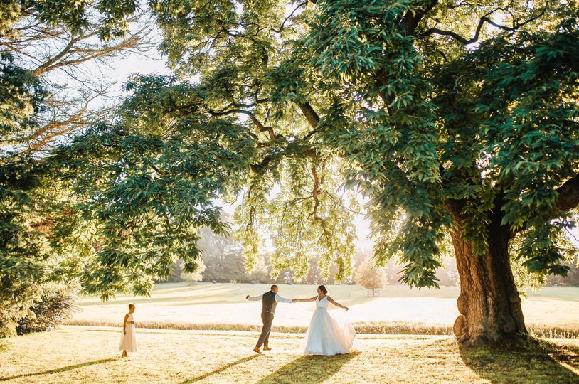 Beautiful Gardens & Grounds within the Venue