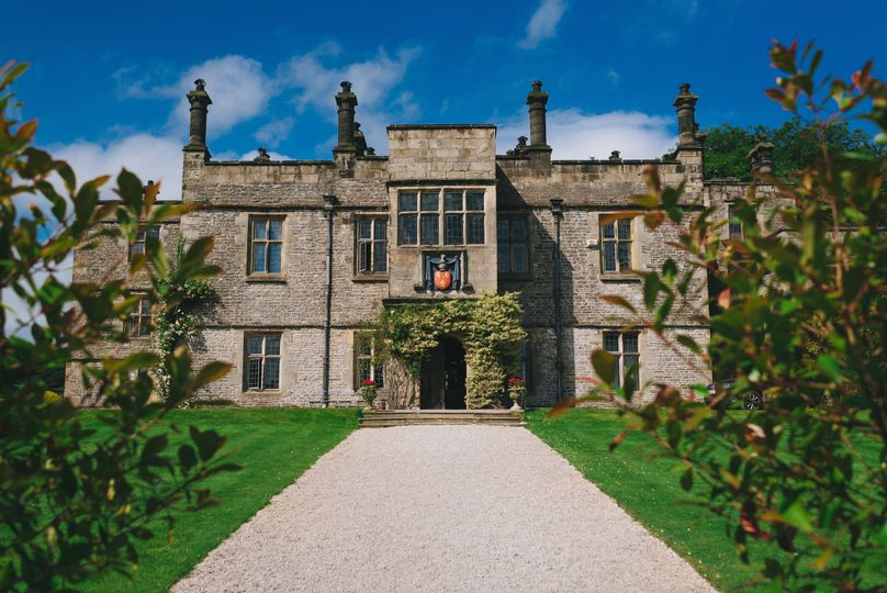 Tissington Hall Main Entrance