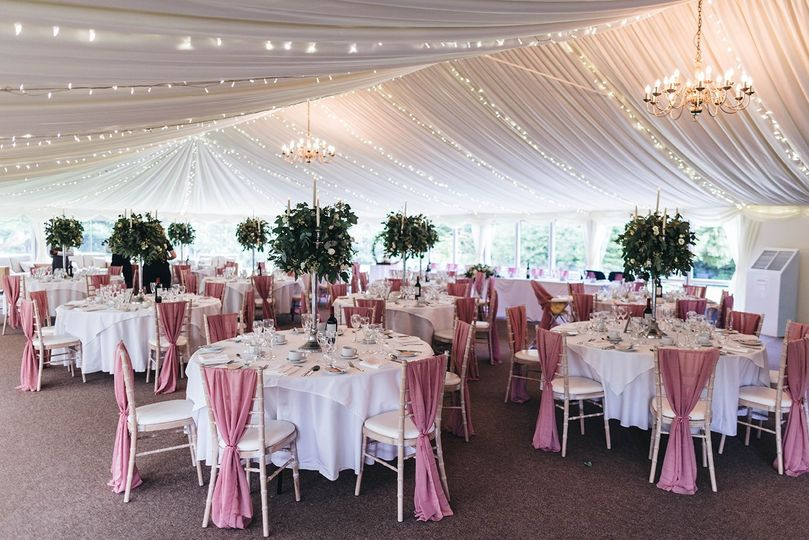 Our stunning Pavillion Marquee