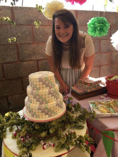 Esther's wedding cake