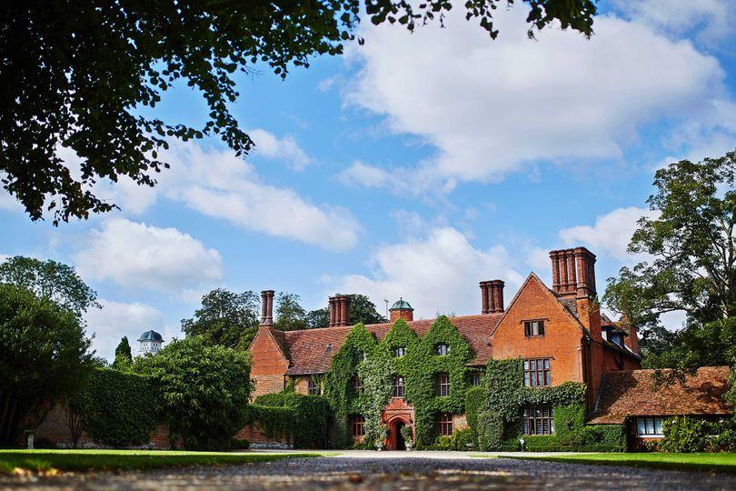 Woodhall Manor driveway