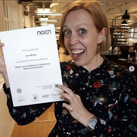 Celebrating celebrant qualifications