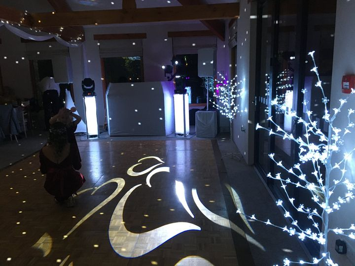 Atmospheric party lights