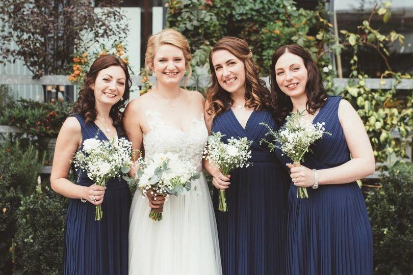 Beauty, Hair & Make Up Rose and Gold Brides 6