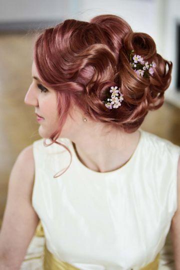 Beauty, Hair & Make Up Rose and Gold Brides 54