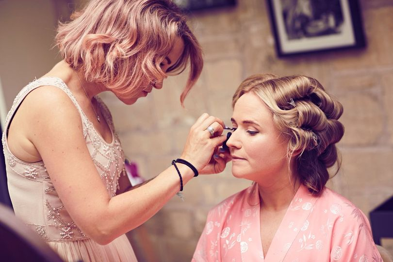 Beauty, Hair & Make Up Rose and Gold Brides 62