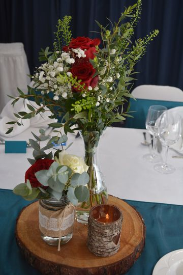 Rustic Table Centrepiece