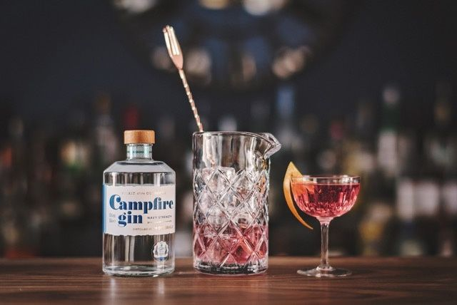 Local gin cocktails