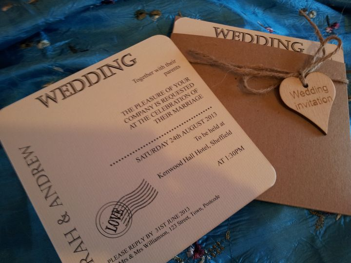 Shabby chic with wooden heart