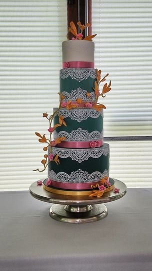 Cake Lace and Sugar Flowers