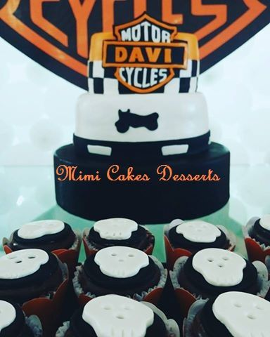 Funny cakes modern brides