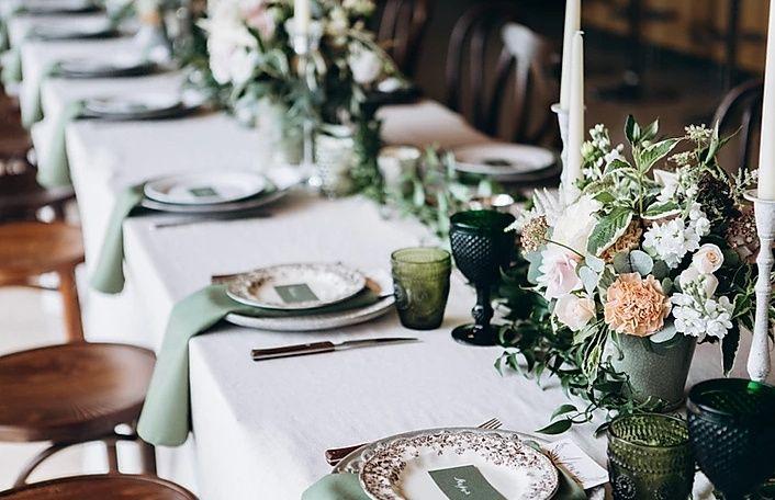 Elegant tablescape