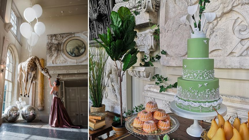 Victoriana cake