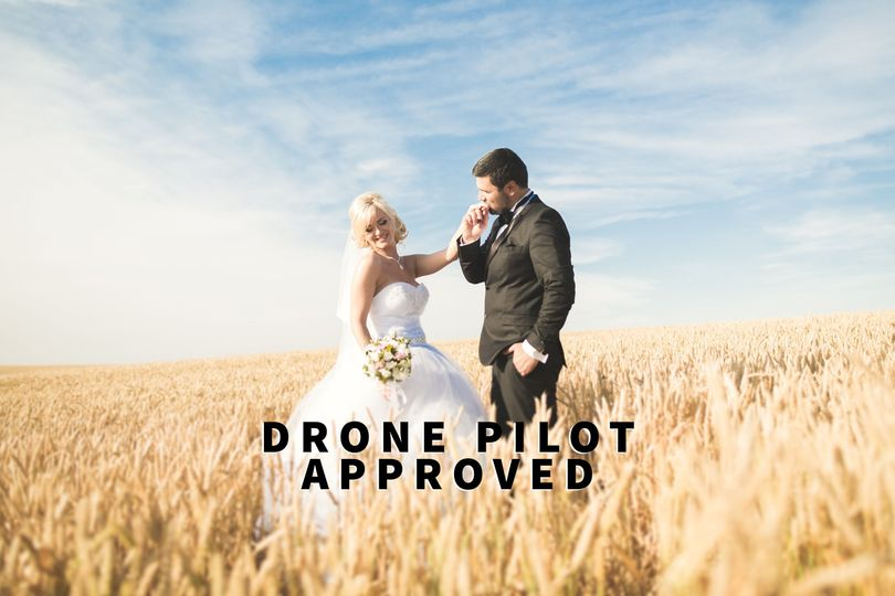 Wedding film - Drone pilot approved