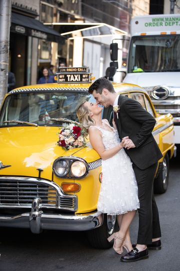 Classic cab to Central Park