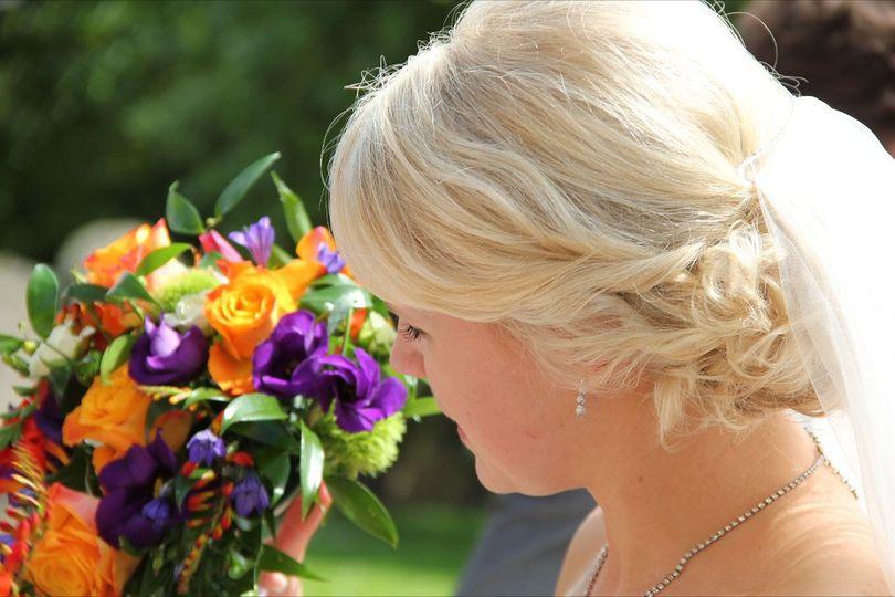 Wedding Hair by Lisa Cameron