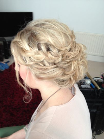 Wedding hair North East