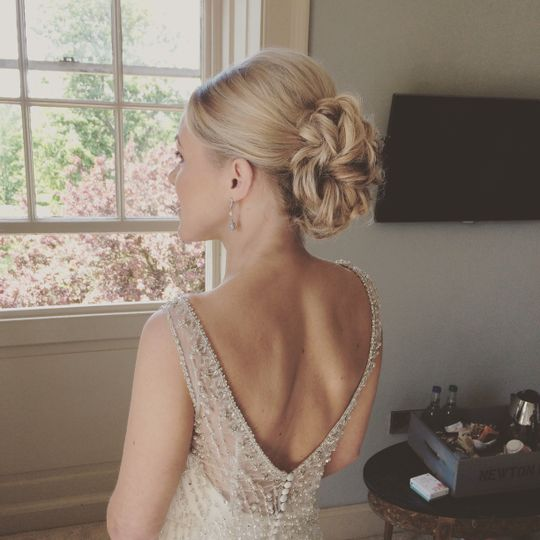 North East wedding hair