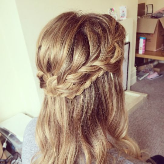 Wedding plait