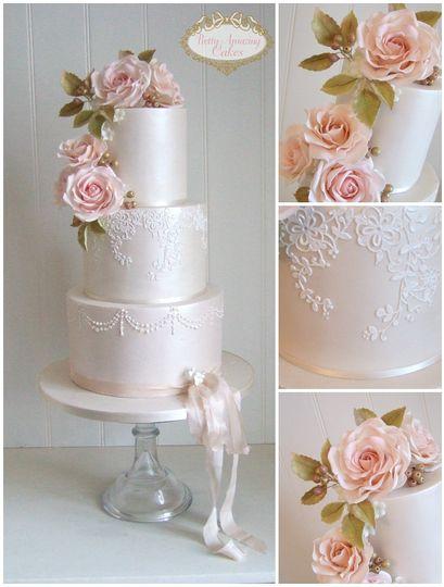 vintage wedding cakes bristol bath somserset pretty amazing cakes 4 141678