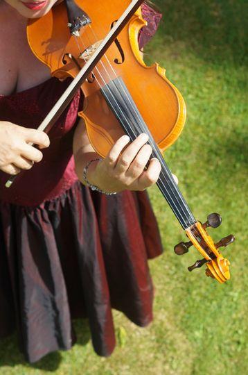 Wedding violin