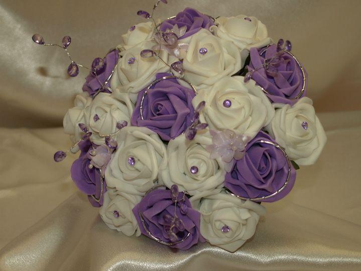 Cadburys Purple Round Bouquet.