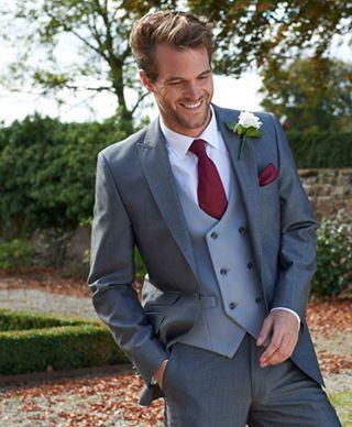 Silver Lounge Suit