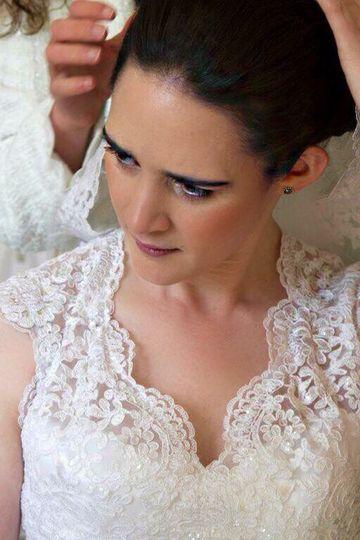 Bride flocton