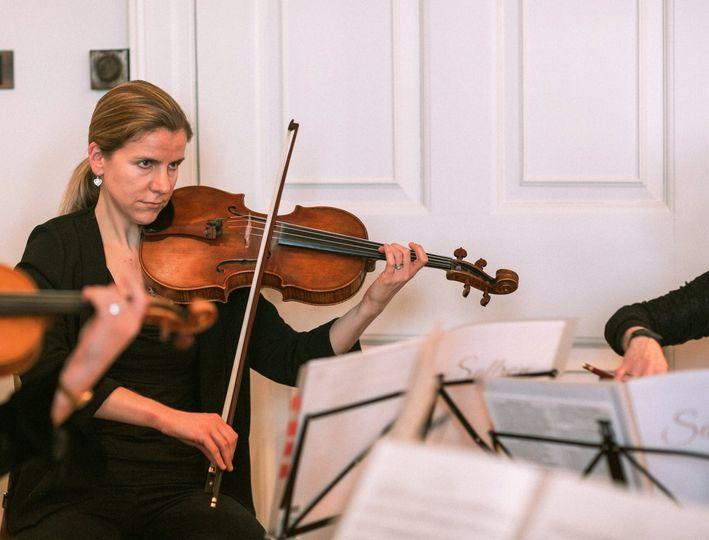 Saffron Strings performs live