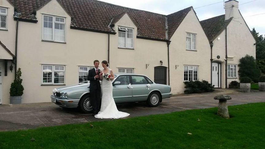 Jaguar Wedding Car Bristol