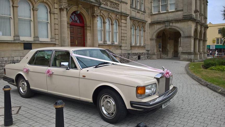 Rolls Royce Wedding Car Bristo