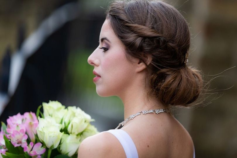 Traditional hair updo