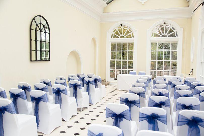 Hunton Park Winter Wedding