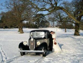 Austin Mayfair bridal car