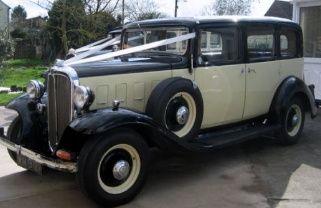 Citroen Rosalie bridal car